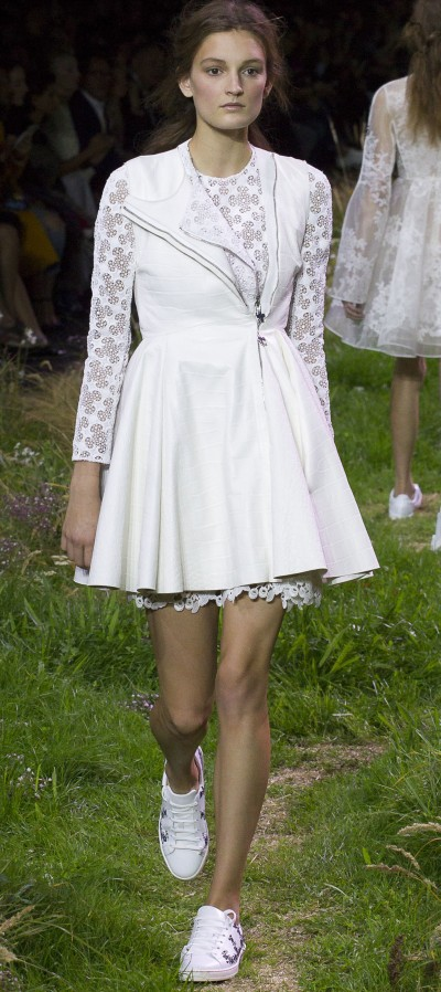 Moncler Gamme Rouge - Spring 2016 RTW - Ricamificio Paolo Italy - The Italian Embroidery