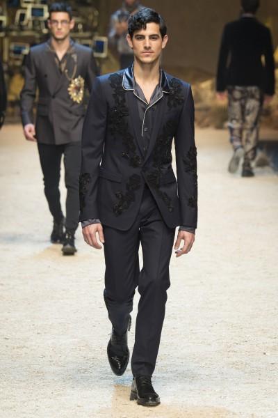 Dolce & Gabbana - Fall 2016 Menswear - Ricamificio Paolo Italy - The Italian Embroidery