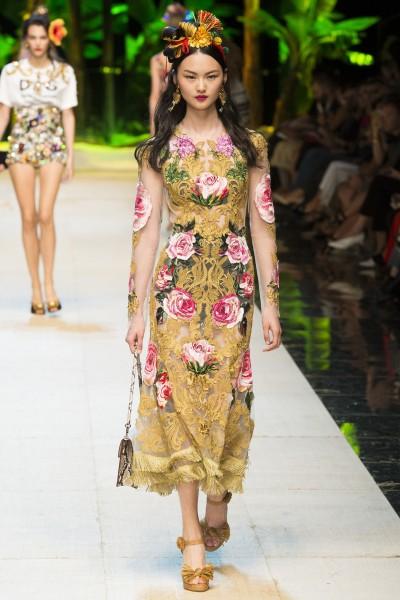 Dolce & Gabbana - Spring 2017 RTW - Ricamificio Paolo Italy - The Italian Embroidery