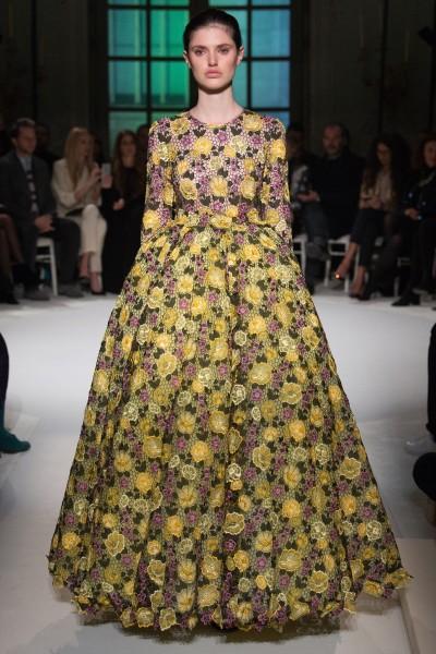 Giambattista Valli Haute Couture gennaio 2017 - Ricamificio Paolo Italy - The Italian Embroidery