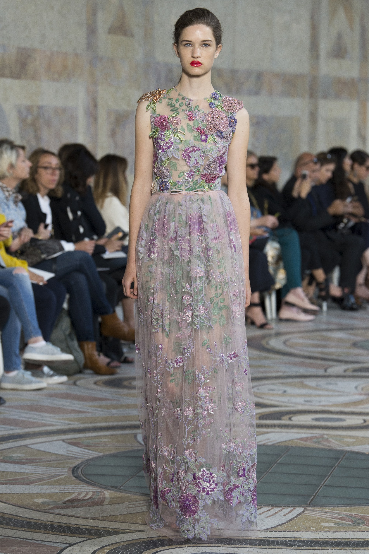 Giamba - Haute couture 2017 - Ricamificio Paolo Italy - The Italian Embroidery