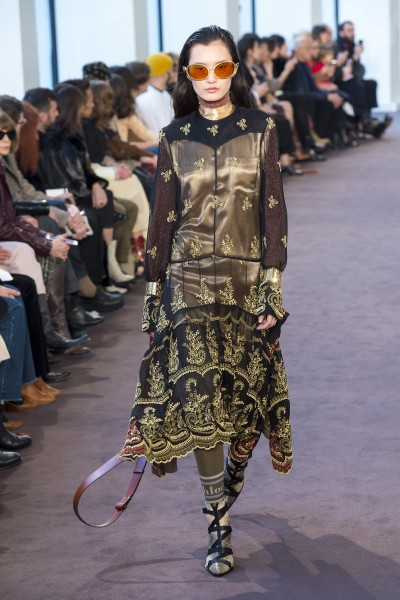 Chloé Fall 18-19--2 - Ricamificio Paolo Italy - The Italian Embroidery